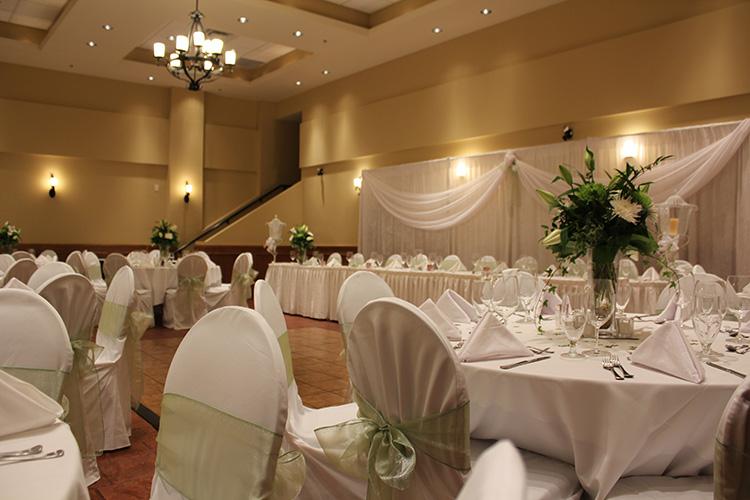 La Casa Mirador Ballroom Wedding