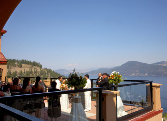 La Casa Wedding View