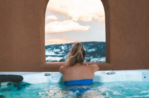 Rooftop hot tub La Casa Mirador